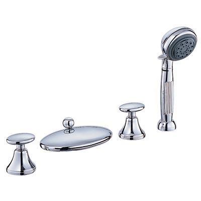 Bộ vòi sen trên bồn tắm CAESAR AS100C