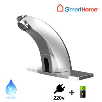 Vòi rửa lavabo cảm ứng SmartHome F68