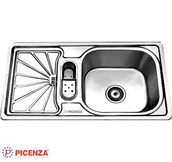 Chậu rửa bát Picenza TB13 (inox 304)