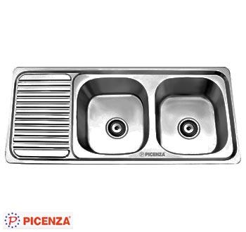 Chậu rửa bát Picenza TB3 (inox 304)