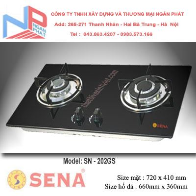 Bếp gas âm Sena SN-202GS