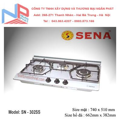 Bếp gas âm SENA SN-302SS