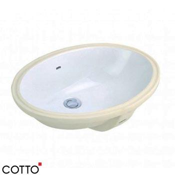 Chậu rửa âm bàn COTTO C017