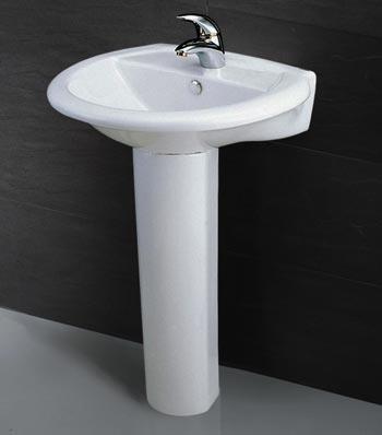 Chậu rửa chân đứng Caesar L2360+P2437