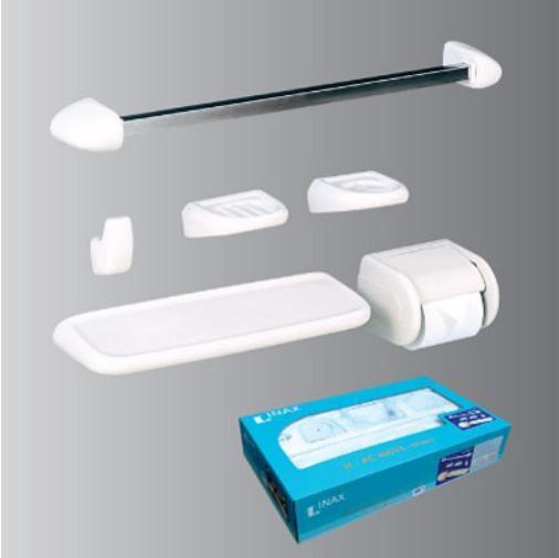 Bộ phụ kiện phòng tắm INAX H-AC400V6 (màu trắng)