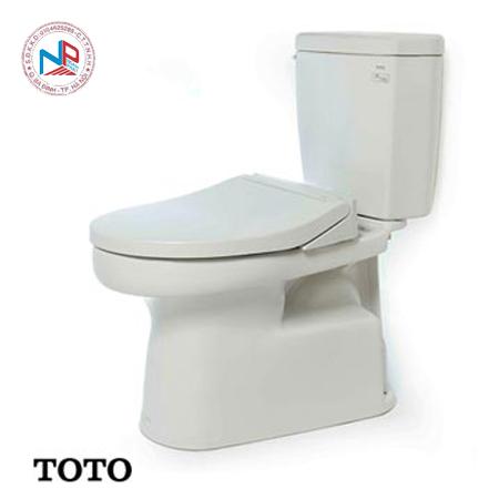 Bàn cầu TOTO 2 khối CS350DE2 (Nắp Eco-Washer TCW07S)