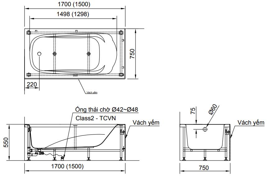 Bản vẽ kỹ thuật của sản phẩm 2