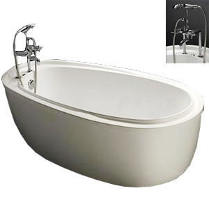 Bồn tắm nằm Caesar AT6480 có chân yếm