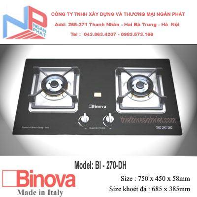 Bếp gas âm Binova BI-270-DH