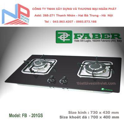 Bếp gas âm Faber FB-201GS