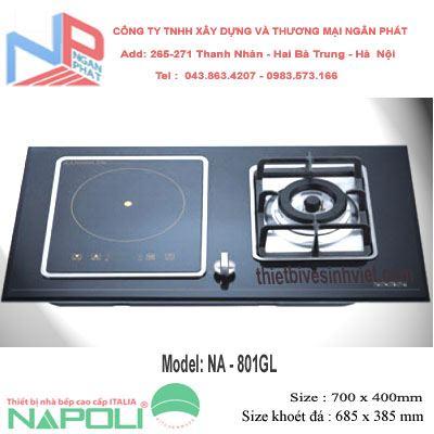 Bếp gas – từ Napoli NA-801GL