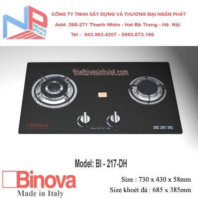 Bếp gas âm Binova BI-217-DH