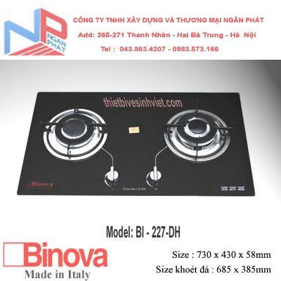 Bếp gas âm Binova BI-227-DH