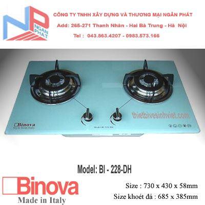 Bếp gas âm Binova BI-228-DH