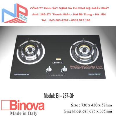 Bếp gas âm Binova BI-237-DH