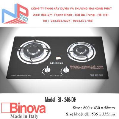 Bếp gas âm Binova BI-246-DH