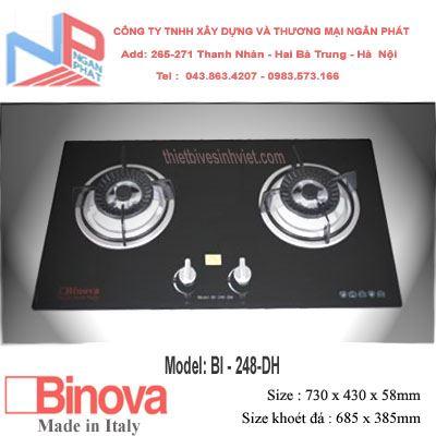 Bếp gas âm Binova BI-248-DH