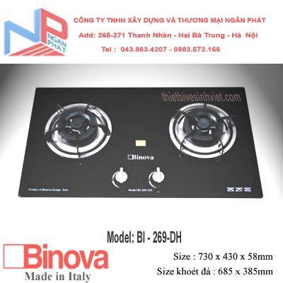 Bếp gas âm Binova BI-269-DH