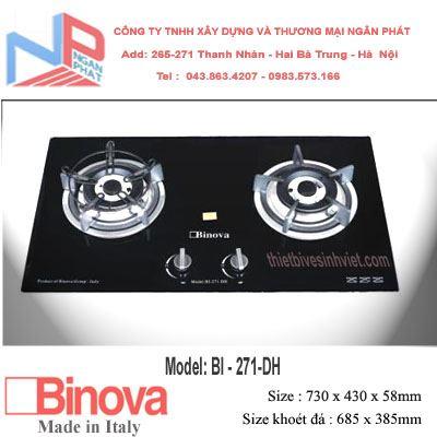Bếp gas âm Binova BI-271-DH