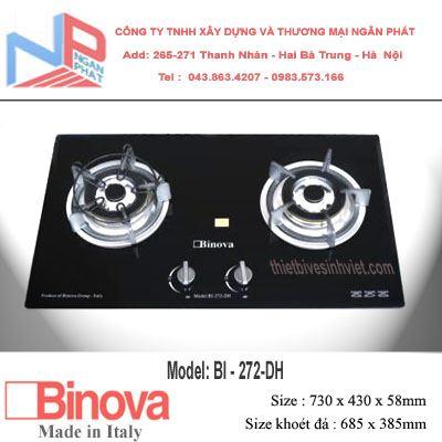 Bếp gas âm Binova BI-272-DH