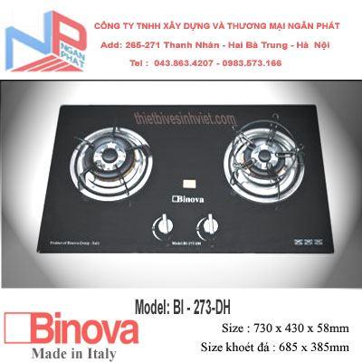 Bếp gas âm Binova BI-273-DH