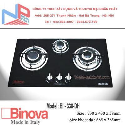 Bếp gas âm Binova BI-338-DH