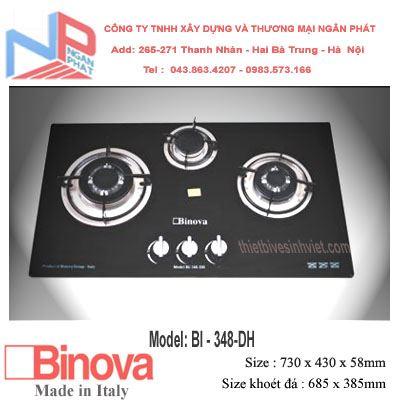 Bếp gas âm Binova BI-348-DH