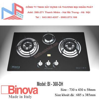 Bếp gas âm Binova BI-368-DH