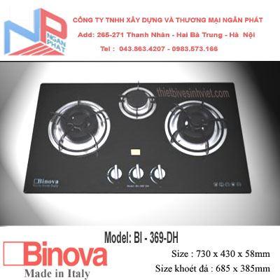 Bếp gas âm Binova BI-369-DH