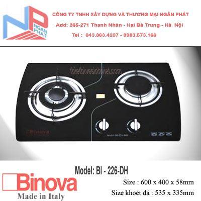 Bếp gas âm Binova BI-226-DH