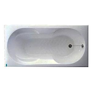 Bồn tắm xây Caesar AT0370 không chân yếm