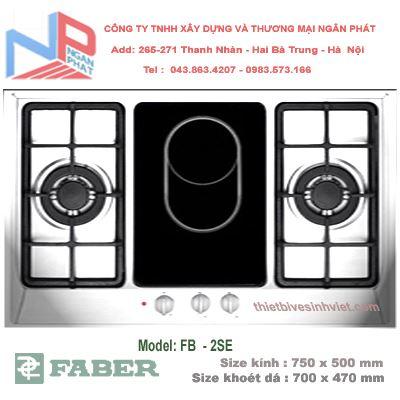 Bếp gas âm Faber FB-2SE