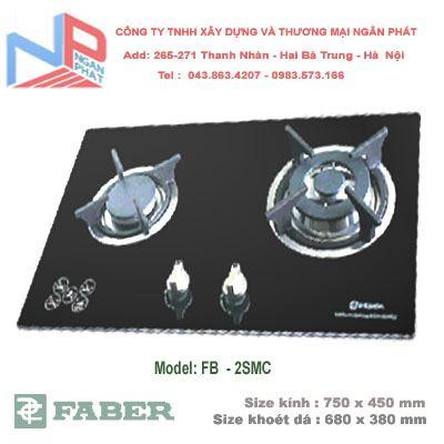 Bếp gas âm Faber FB-2SMC