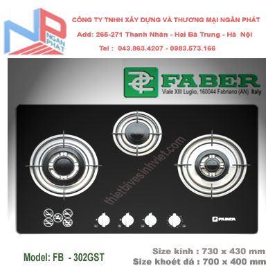 Bếp gas âm Faber FB-302GST