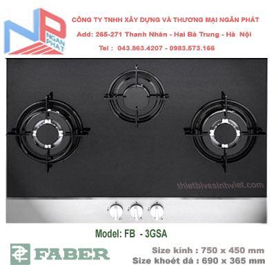 Bếp gas âm Faber FB-3GSA