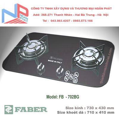 Bếp gas âm Faber FB-702BG
