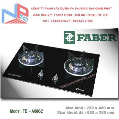 Bếp gas âm Faber FB-A08G2