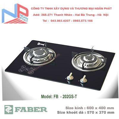 Bếp gas âm Faber FB-206GS-T
