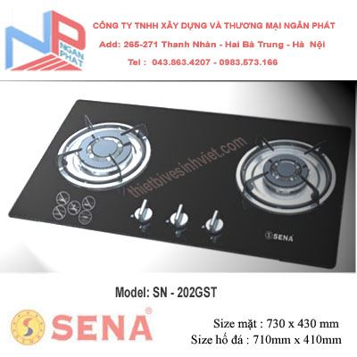 Bếp gas âm SENA SN-202GST
