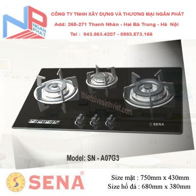 Bếp gas âm SENA SN-A07G3