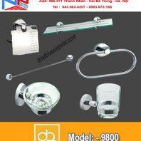 Bộ phụ kiện phòng tắm Đình Quốc DQ 9800