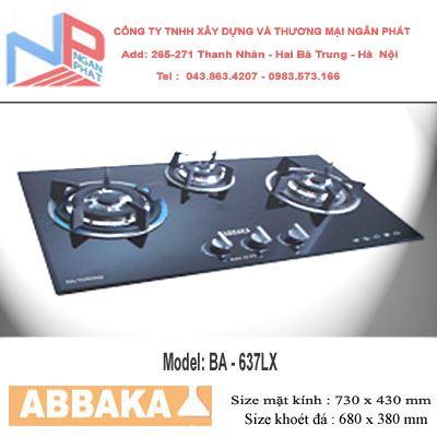 Bếp gas âm Abbaka AB-637LX