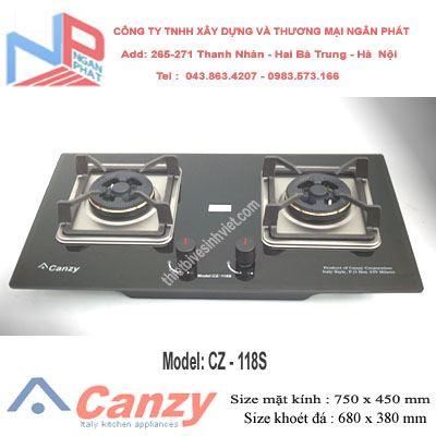 Bếp gas âm Canzy CZ-118S