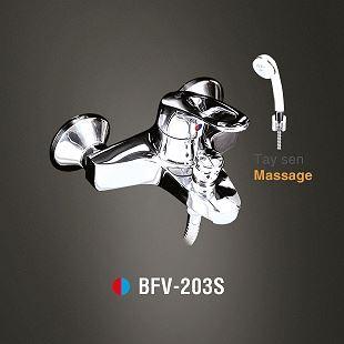 Vòi sen tắm nóng lạnh Tay sen massage INAX BFV-203S
