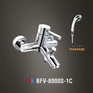Vòi sen tắm nóng lạnh Tay sen Massage INAX BFV-8000S-1C