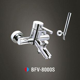 Vòi sen tắm nóng lạnh Tay sen mạ INAX BFV-8000S