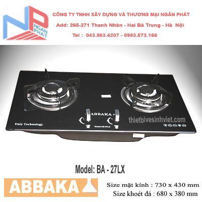 Bếp gas âm Abbaka AB-27LX