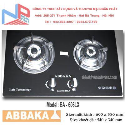 Bếp gas âm Abbaka AB-606LX