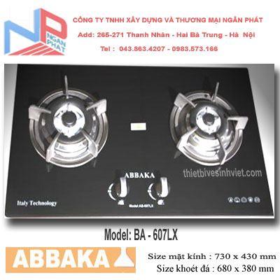 Bếp gas âm Abbaka AB-607LX