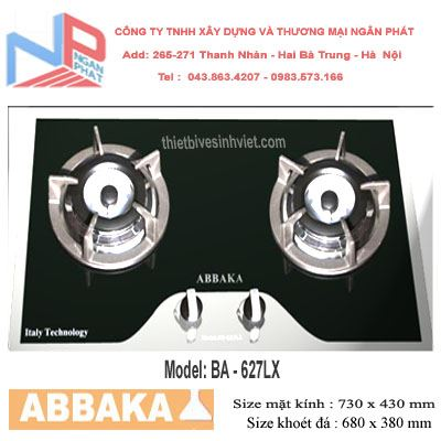 Bếp gas âm Abbaka AB-627LX